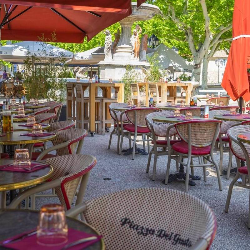 Piazza Del Gusto - Restaurant Les Baux de Provence